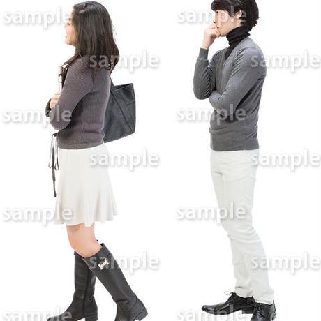 人物切抜きセット☆ショッピング 1_set155