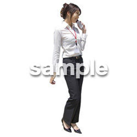 人物切抜き素材 ベーシックファッション編 P_146