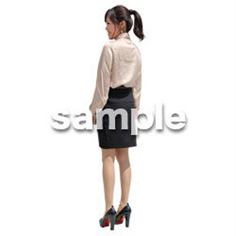 人物切抜き素材 ベーシックファッション編 P_159