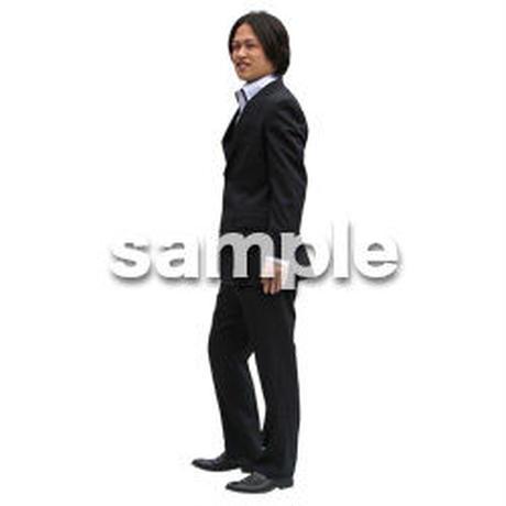人物切抜き素材 ベーシックファッション編 P_473