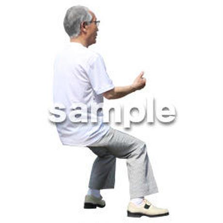 人物切抜き素材 シニアライフ編 R_489