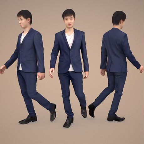 3D人物素材  [Posed]  105_Sota
