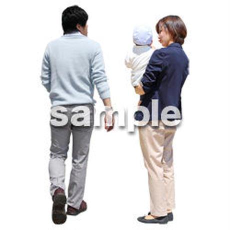 人物切抜き素材 ショッピングモール護編 T_085