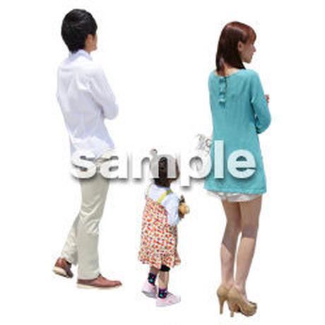 人物切抜き素材 ショッピングモール護編 T_089