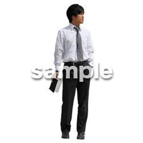 人物切抜き素材 ベーシックファッション編 P_341