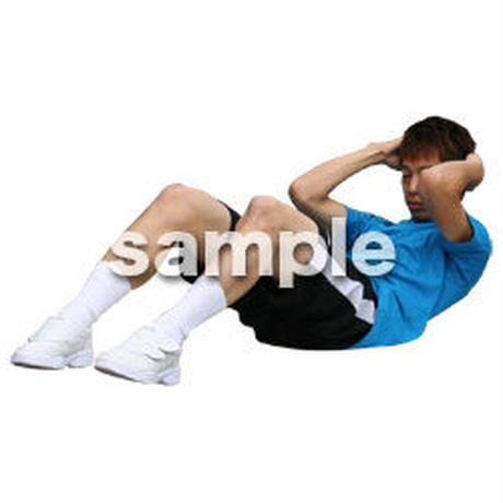 人物切抜き素材 夏服・フィットネス編 J_498