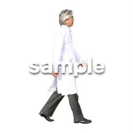 人物切抜き素材 医療・シニア車椅子編 D_033