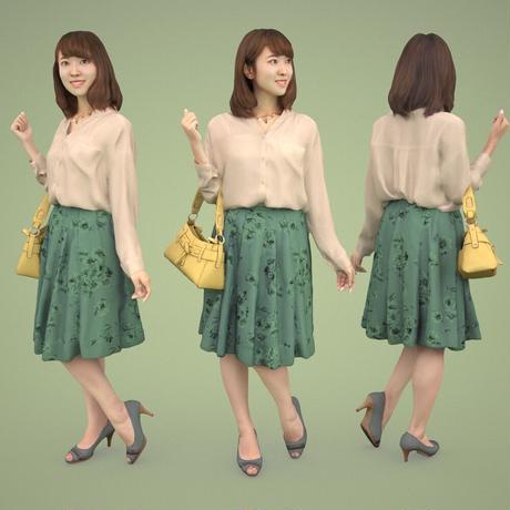 3D人物素材  [Posed]  011_Kana