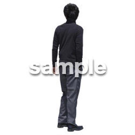 人物切抜き素材 ベーシックファッション編 P_494