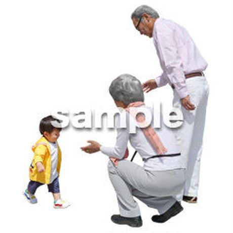 人物切抜き素材 シニアライフ編 R_029