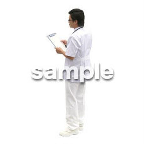 人物切抜き素材 医療・シニア車椅子編 D_014