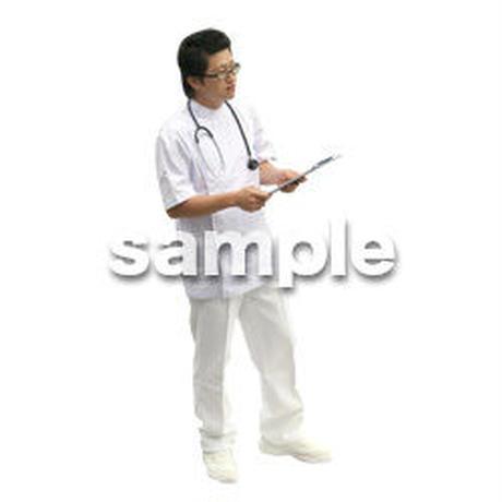人物切抜き素材 医療・シニア車椅子編 D_012