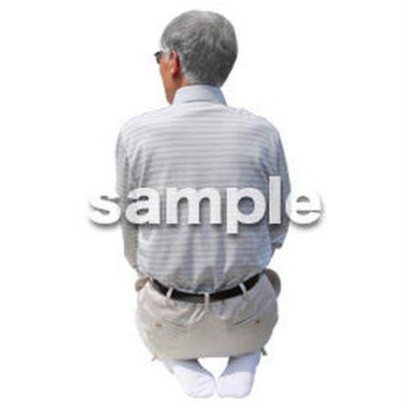 人物切抜き素材 シニアライフ編 R_500