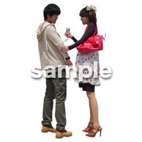 人物切抜き素材 レジャー・ショッピング編 L_112