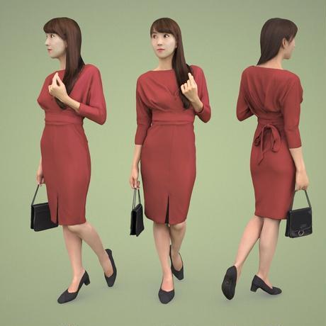 3D人物素材  [Posed]  003_Rika