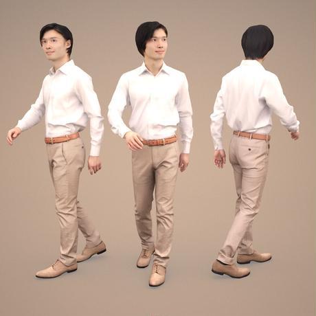 3D人物素材  [Posed]  067_Syun