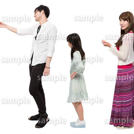 人物切抜きセット☆アットホーム 1_set139