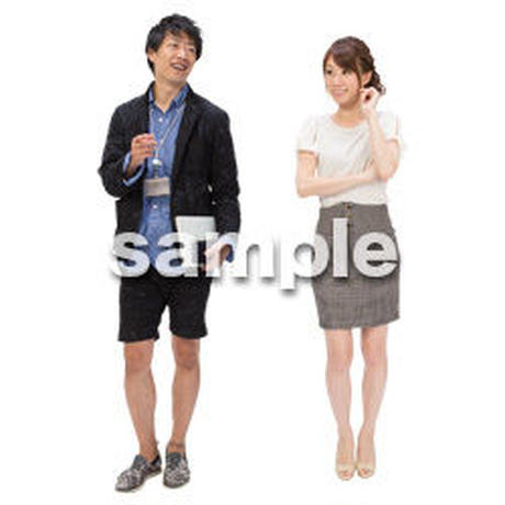 Cutout People ビジネス-日本人 EE_176