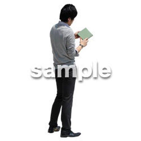 人物切抜き素材 ベーシックファッション編 P_364