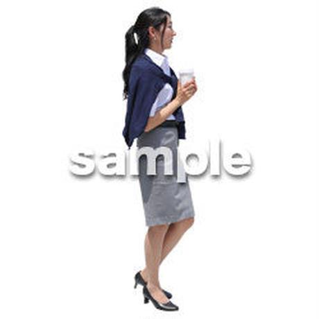 Cutout People ビジネス-日本人 EE_408