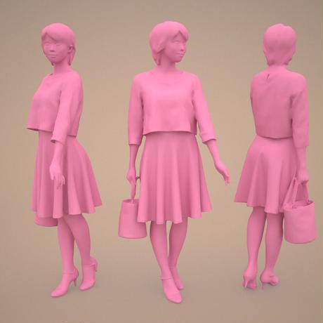 3D人物素材  [Posed]  021_Haru