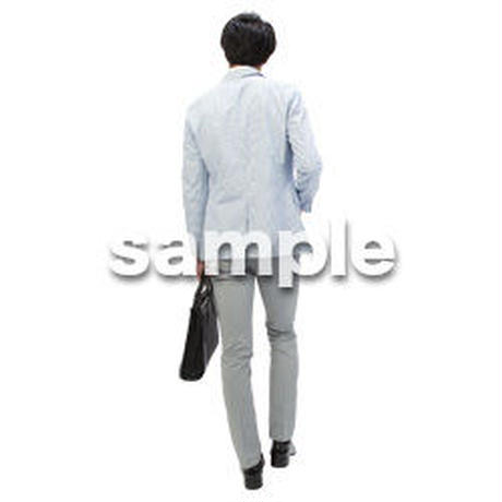 Cutout People ビジネス-日本人 EE_280