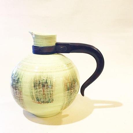 U.S.A. Vintage California Poterry ''Vernon Kilns'' RAFFIA Coffee Pot