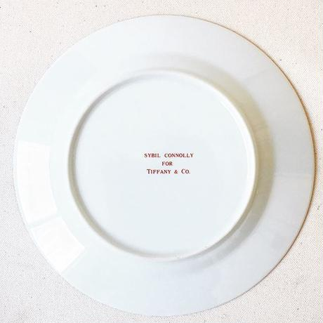 "Vintage ""TIFFANY & CO. by SYBIL CONNOLLY"" Demitasse & Cake Plate"