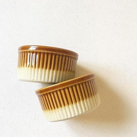 "France ""Emile Henry"" Used Ramekin Custard Cups"