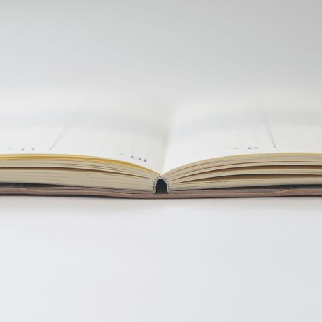 ブラウニー手帳2021 レギュラー (A6=文庫サイズ) ブラック