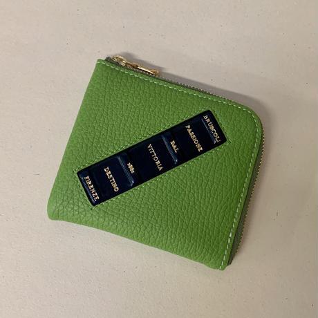 Mini wallet 《ピスタキオ》