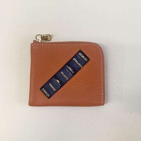Mini Wallet Book type《オレンジ》