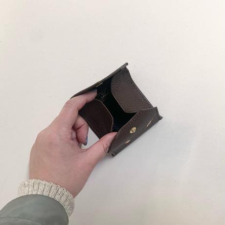コインケース&アクセサリーケース/チョコブラウン