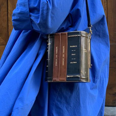 【22k Gold】Book shelf clutch bag
