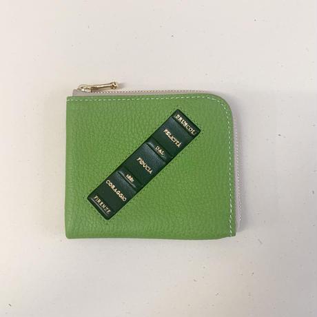 Mini wallet 《ピスタキオグリーン》