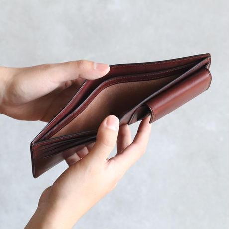 二つ折り財布 / Chocolate