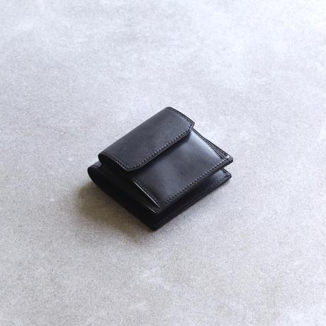 【ブライドルレザー】コンパクトウォレット / Black