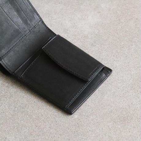 二つ折り財布 /Black