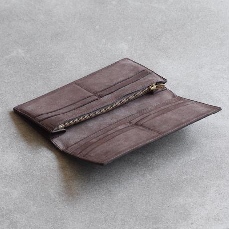 二つ折り長財布 / Taupe
