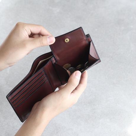 二つ折り財布 / チョコ