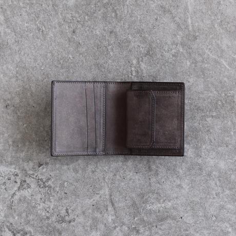 【ブライドルレザー】ミニウォレット/Chocolate × Topo