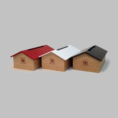 "TissueBox  ""house"" (black)"