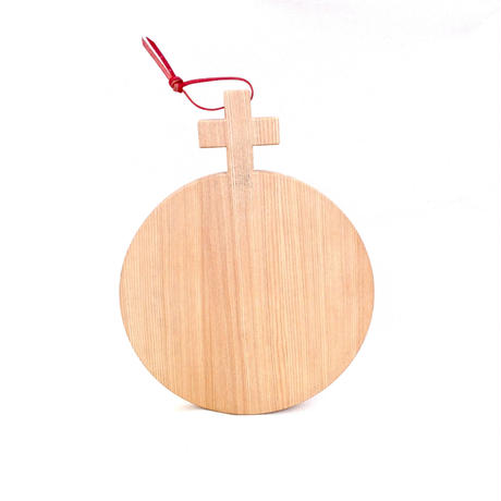 Plus Handle Round Cutting Board