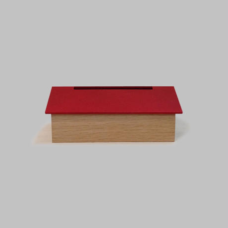 "TissueBox  ""house"" (red)"