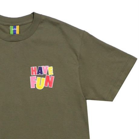 BEDLAM HAVE FUN S/S TEE-M,GREEN