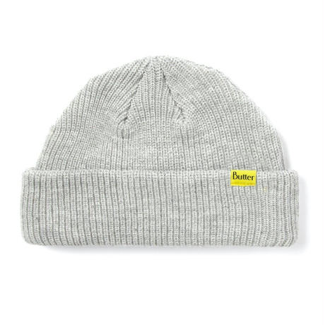 BUTTER GOODS WHARFIE BEANIE- GREY
