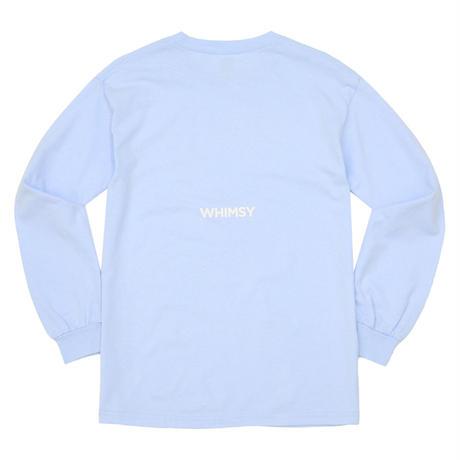 WHIMSY / POISON L/S TEE - LIGHT BLUE