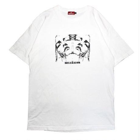 HELLRAZOR FLEA TEE-WHITE