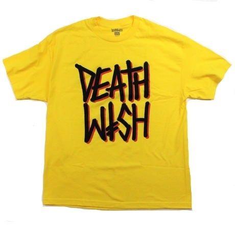 DEATHWISH DEATH STACK TEE  YELLOW
