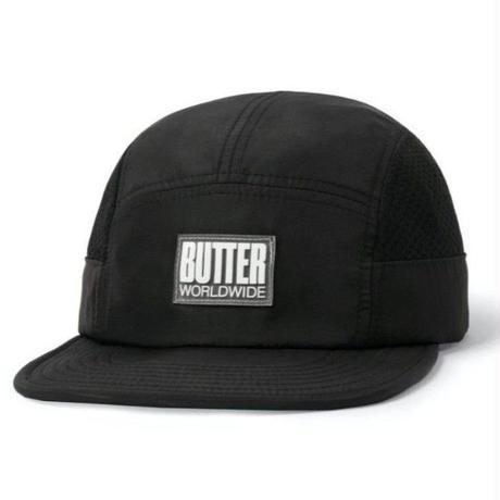 BUTTER GOODS MARATHON CAMPCAP-BLACK/BLACK
